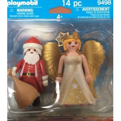 Playmobil 9498 - Santa and Christmas Angel