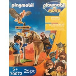 Playmobil 70072 - THE MOVIE Marla avec cheval