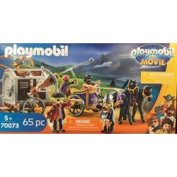 Playmobil 70073 - THE MOVIE Charlie avec convoi de prison