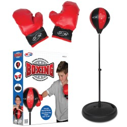 Boxing - Floor set with gloves