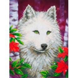 Diamond Dotz - White Wolf
