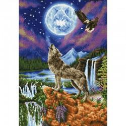 Diamond Dotz - Mystic Wolf