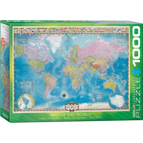 Eurographics - Map of the World - 0557