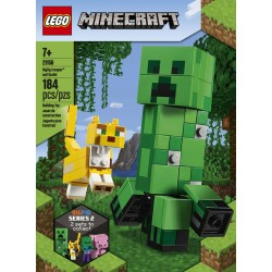 LEGO 21156 - Minecraft - Bigfigurine Creeper™ et ocelot