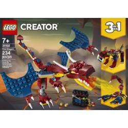 LEGO 31002 - Creator - Le dragon de feu