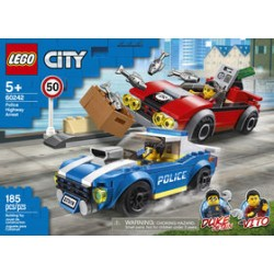 LEGO 60242 - City - Police Highway Arrest