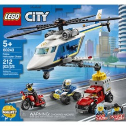 LEGO 60243 - City - Police Helicopter Chase