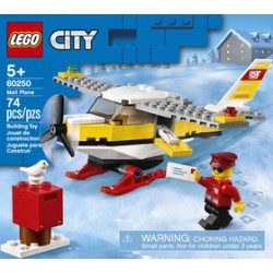 LEGO 60250 - City - Mail Plane