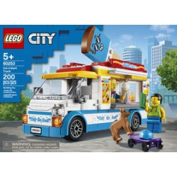 LEGO 60253 - City - Le camion de la marchande de glaces