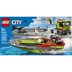 LEGO 60254 - City - Race Boat Transporter