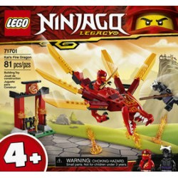 LEGO 71701 - Ninjago - Kai's Fire Dragon