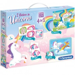 Edukit 4 in 1 Unicorn - Clementoni