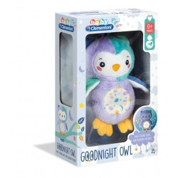 Luminous Owl Plush - Clementoni