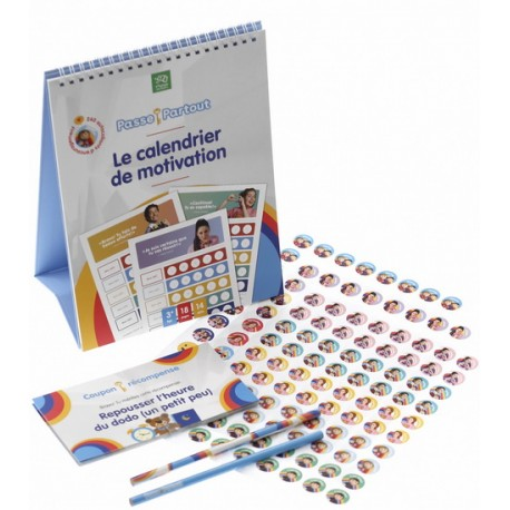 Calendrier de motivation - Passe-Partout