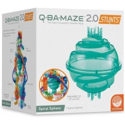 Q-BA-MAZE marble run: Sphere Stunt add-on Set