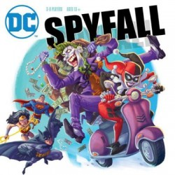Spyfall - DC - Cryptozoic Entertainment