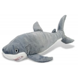 Wild Republic 13233 - Grand Requin blanc - Peluche 10""