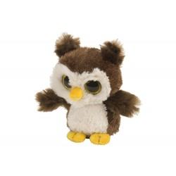 Wild Republic 13706 - Root Beer Hibou - Peluche 5""
