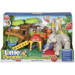 Fisher-Price CHF55 - Little People - Zoo des grands animaux