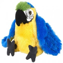 Wild Republic 12292 - Macaw Parrot Stuffed Animal - 8""