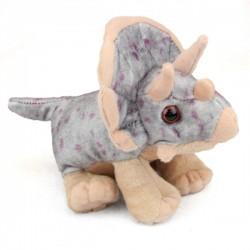 Wild Republic 10893 - Triceratops Stuffed Animal - 8""