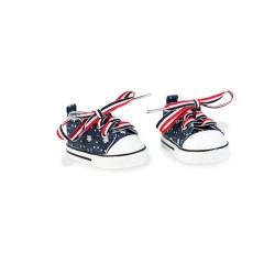 Our Generation 37221 - Chaussures Stars & Stripes Sneaks