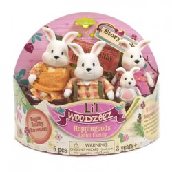 Li'l Woodzeez 6006Z - The Hoppingood Famille Lapin