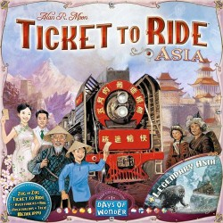 Les Aventuriers du Rail - Extension: Asie - Days of Wonder