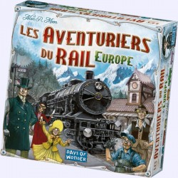 Les Aventuriers du Rail - Europe - Days of Wonder