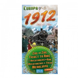 Ticket to Ride - Extension: Europa 1912 - Days of Wonder