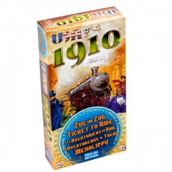 Ticket to Ride - Extension: USA 1910 - Days of Wonder