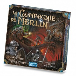 La Compagnie de Merlin - Extension: Les Chevaliers de la Table Ronde - Days of Wonder