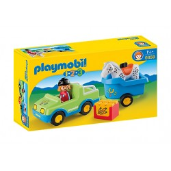 Playmobil 6958 - Car with Horse Trailer