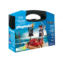 Playmobil 5655 - Pirate Raft Carry Case