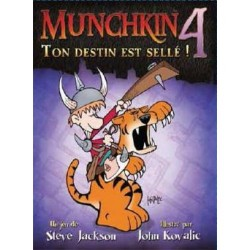 Munchkin 4 - Extension: Ton Destin est Sellé ! - Steve Jackson Games