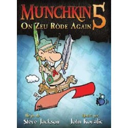 Munchkin 5 - Extension: On Zeu Rôde Again - Steve Jackson Games