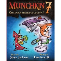 Munchkin 7 - Extension: Oh le gros Tricheuuuuuuuur ! - Steve Jackson Games