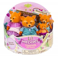 Li'l Woodzeez® 6092Z - The Tippytails™ Famille Renards