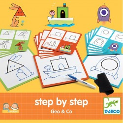 Djeco DJ08322 - Step by Step Geo et Co