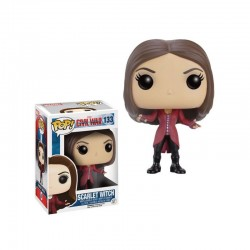 Funko Pop! 133 - Marvel - Civil War: Captain America - Scarlet Witch