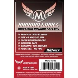 Mayday Games MDG-7045 - Protecteurs de cartes - 43 x 65mm
