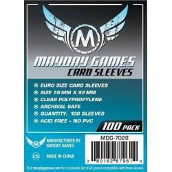 Mayday Games MDG-7028 - Protecteurs de cartes - 59 x 92mm
