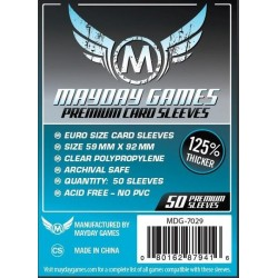 Mayday Games MDG-7029 - Protecteurs de cartes premium - 59 x 92mm