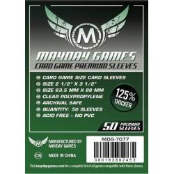 Mayday Games MDG-7077 - Protecteurs de cartes premium - 63.5 x 88mm