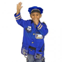 Melissa & Doug® 14835 - Police Officer Role Play Costume Set