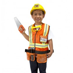 Melissa & Doug® 14837 - Construction Worker Role Play Costume Set