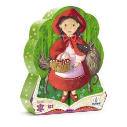 Djeco DJ07230 - Jigsaw puzzle 36 pcs - The Little Red riding Hood