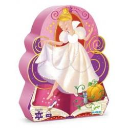 Djeco DJ07232 - Jigsaw puzzle 36 pcs - Cinderella