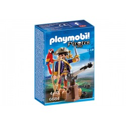 Playmobil® 6684 - Capitaine pirate avec canon