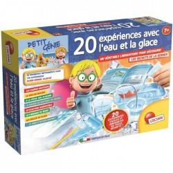 Lisciani Giochi 59539 - Petit Génie - 20 expériences avec l'eau et la glace